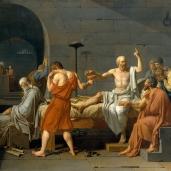 Jacques Louis David, The Death of Socrates, 1787 Metropolitan Museum